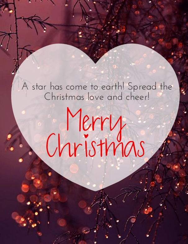Ordinaire Heart Touching Merry Christmas Love Quotes Wishes Card