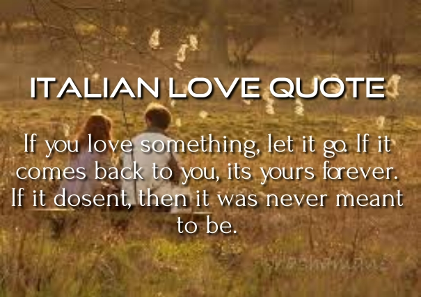 10 Best Italian Love Quotes, Poems and Phrases