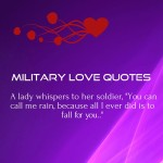 Military Love Quotes for Him – Army Relationship Sayings