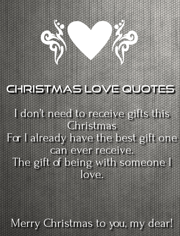 christmas love quotes and sayings 2015-16