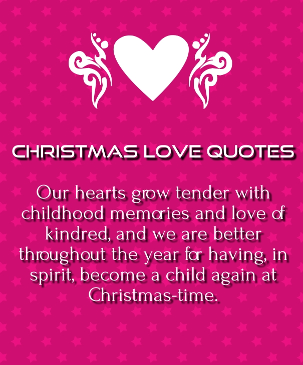 Gentil Cute Christmas Love Quotes