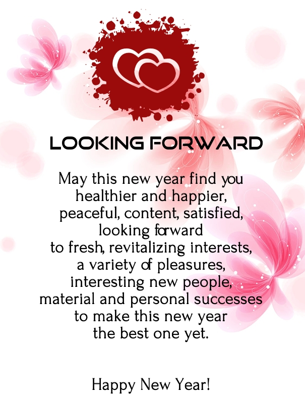happy new year 2019 romantic poems