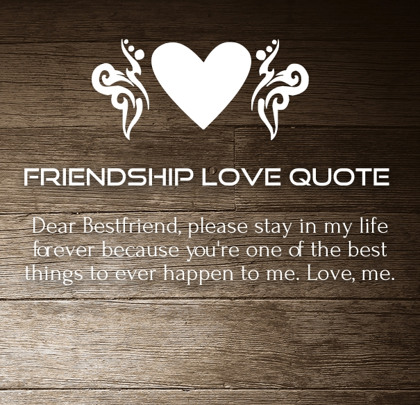 Friendship Love Quotes Impressive Friendship Love Quotes And Sayings For Him Her With Images