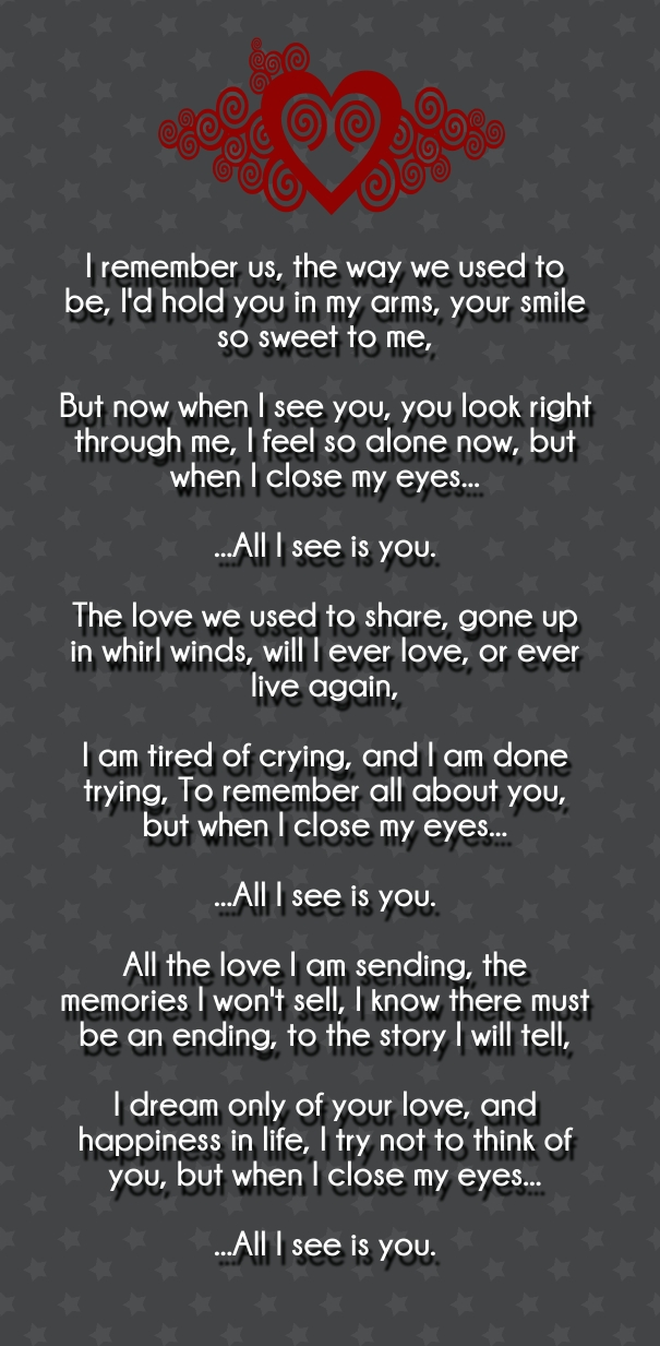 love poems for him short from the heart