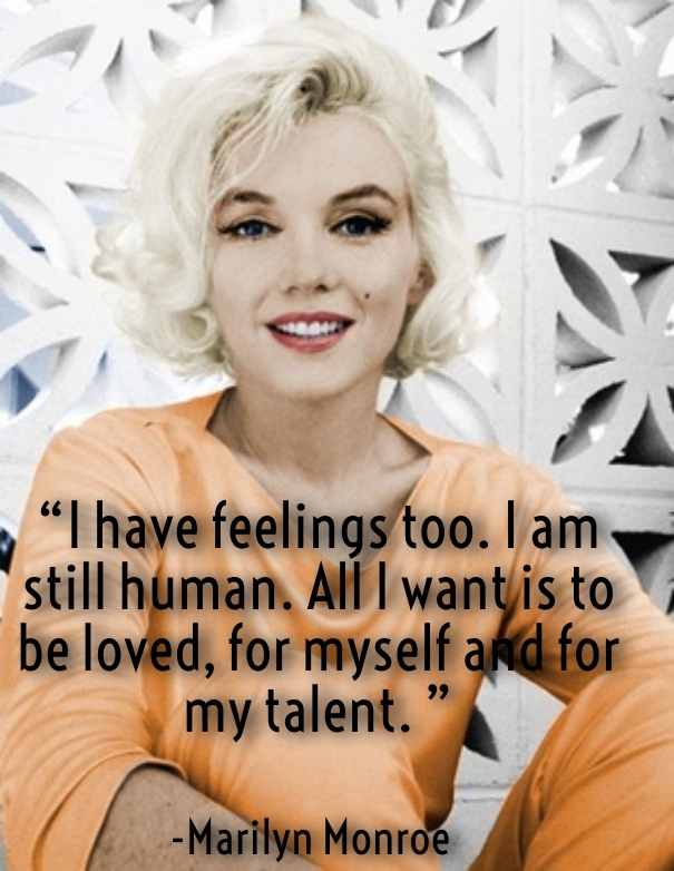 marilyn monroe quotes about love and beauty