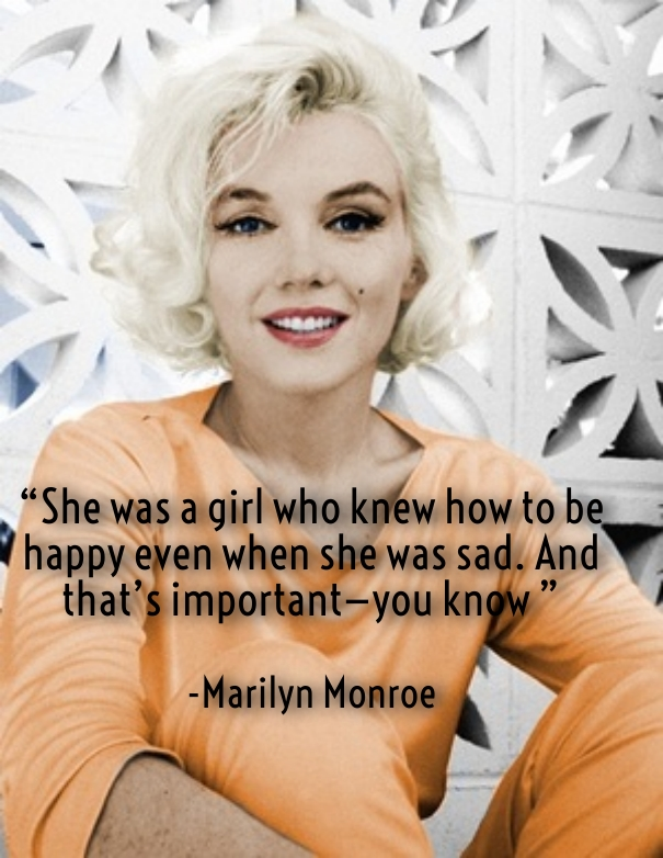 marilyn monroe sayings about love