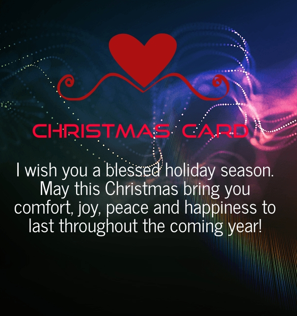 merry christmas cards messages