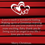 Merry Christmas Love Quotes 2016 for Her & Him
