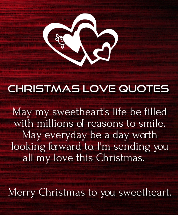 Merry Christmas Love Quotes 2016 for Her & Him - Quotes Square