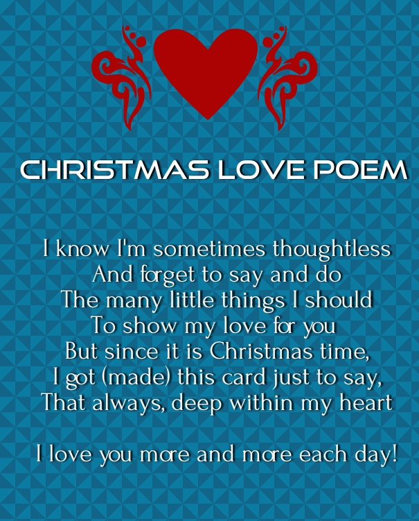 Exceptionnel Merry Xmas Love Poems 2015
