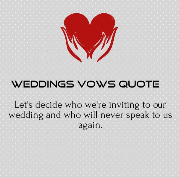 Wedding Vows Quotes and Poems for Speeches - Quotes Square