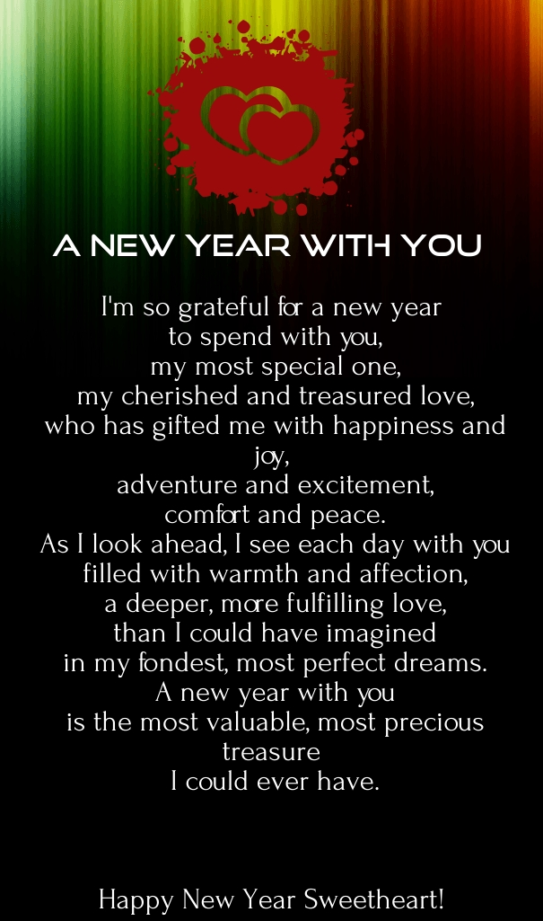 Genial Poem For The New Year 2016