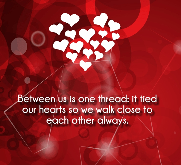 romantic sweet quotes for her