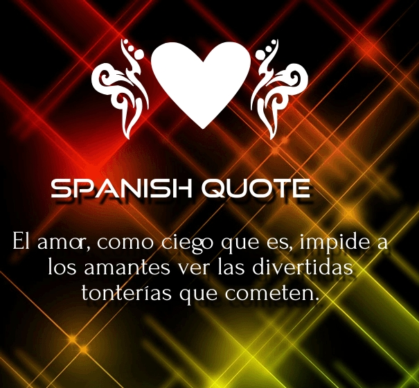 spanish love quotes for him