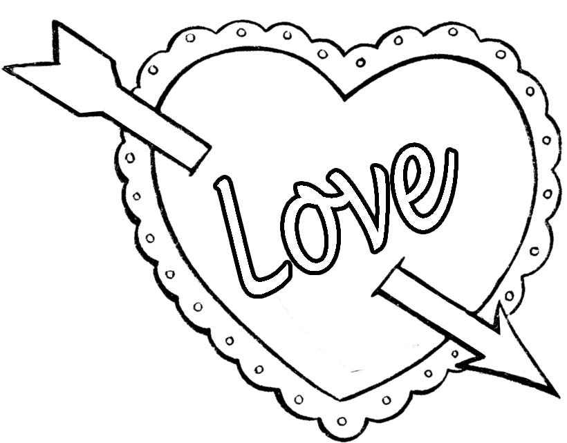 Best Valentine's Day Coloring Pictures (Printables)