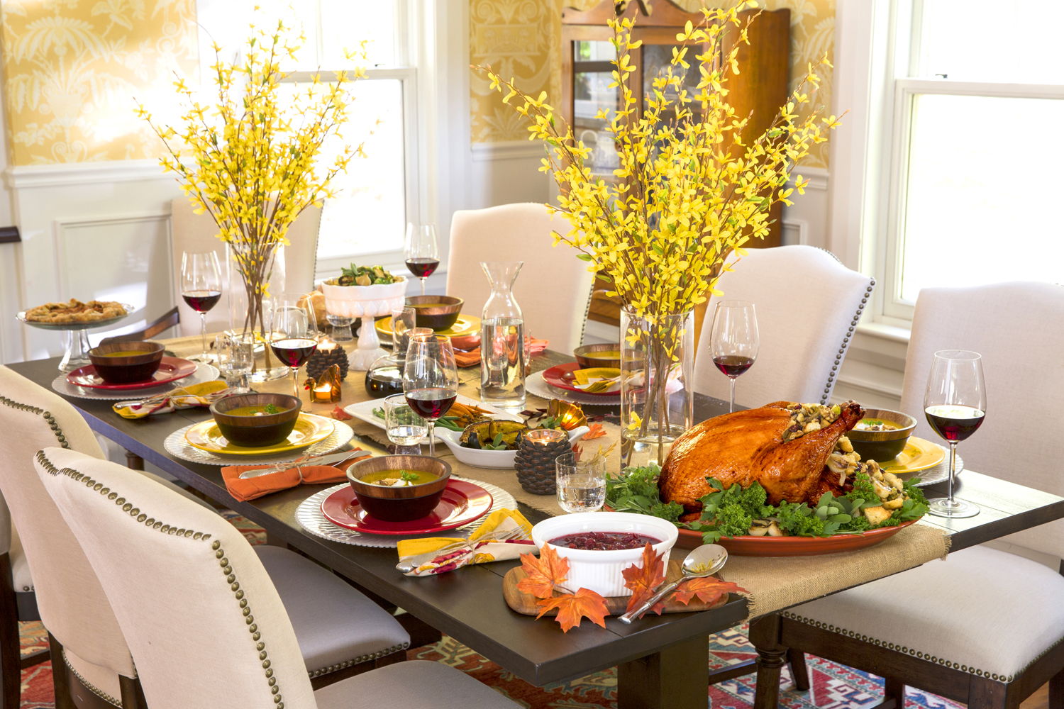 Cute Thanksgiving Table Decoration Ideas