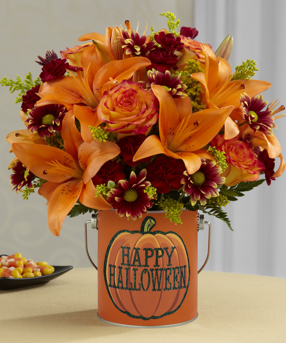 halloween wedding centerpieces
