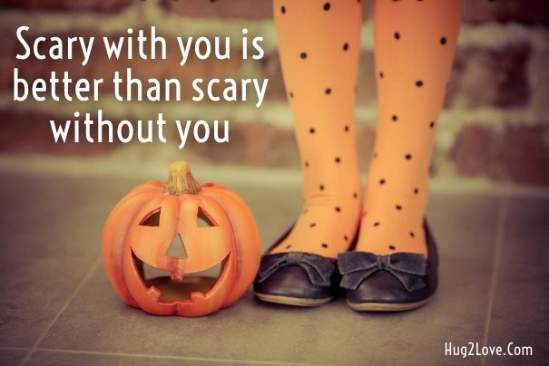 Scary Love Quote For Him To Wish Halloween Day Happy Halloween Funny Quotes