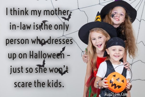 Happy Halloween Quotes Funny Images