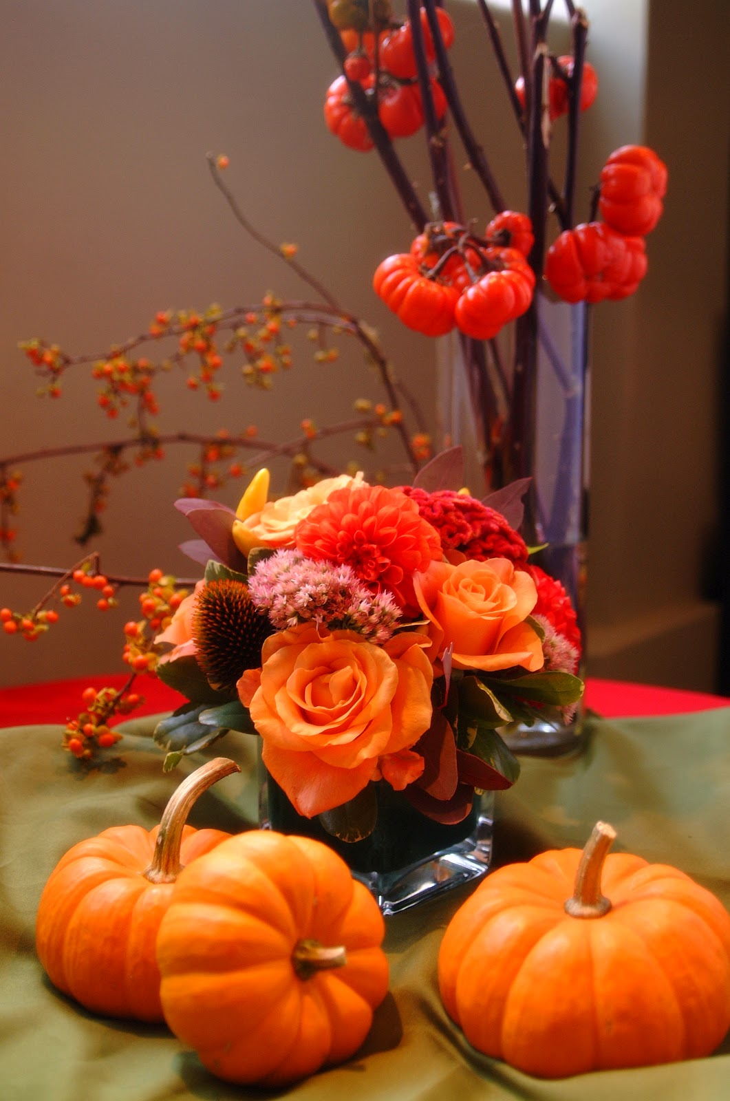 ideas about Halloween Flower Arrangements