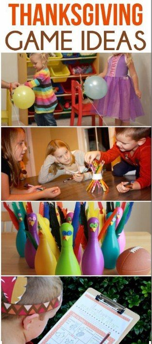 Thanksgiving day activities games for adults kids