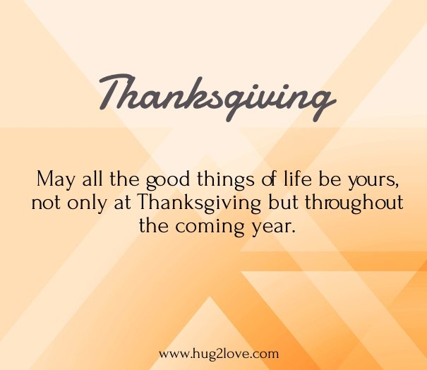 thanksgiving day message for parents