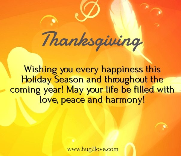 thanksgiving day messagesgreetings