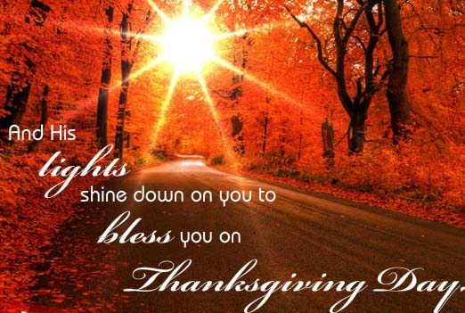 thanksgiving day wishes messages for family