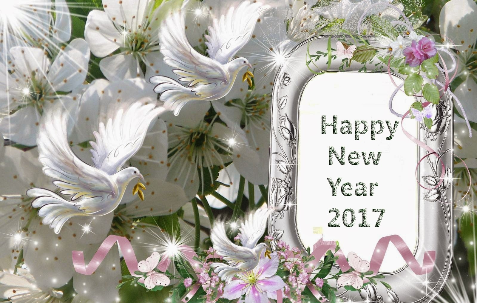 Cute Happy New Year 2017 Wallpapers Love Quotes Square