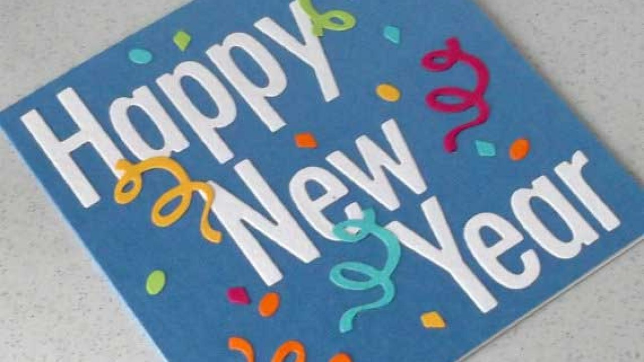 Happy New Year 2021 Handmade Card Designs Crafts To Get Ideas Quotes Square