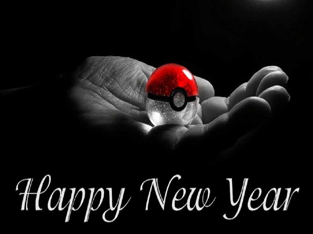 New Year 2016 Black Love Cover Wallpaper Image Happy New Year