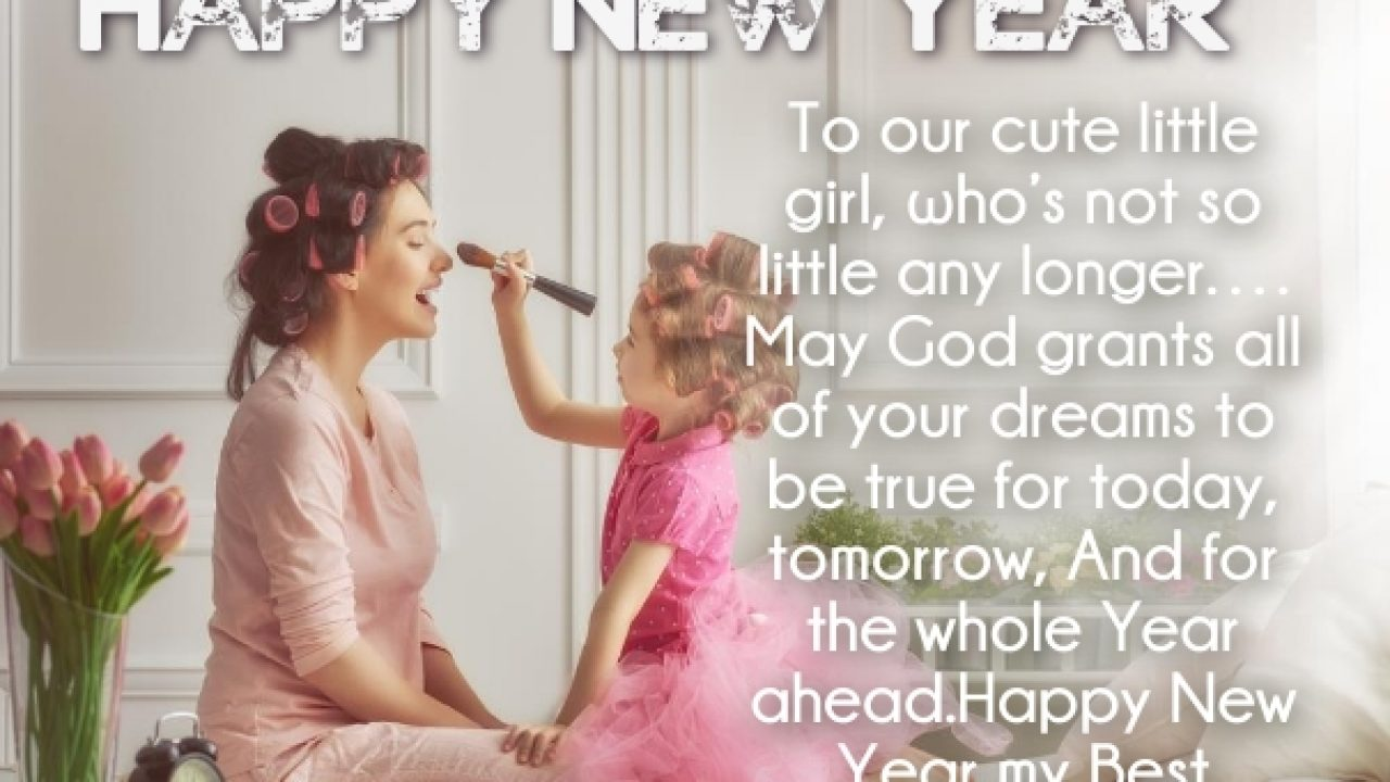 36 Happy New Year 2021 Wishes For Daughter With Love Images Quotes Square