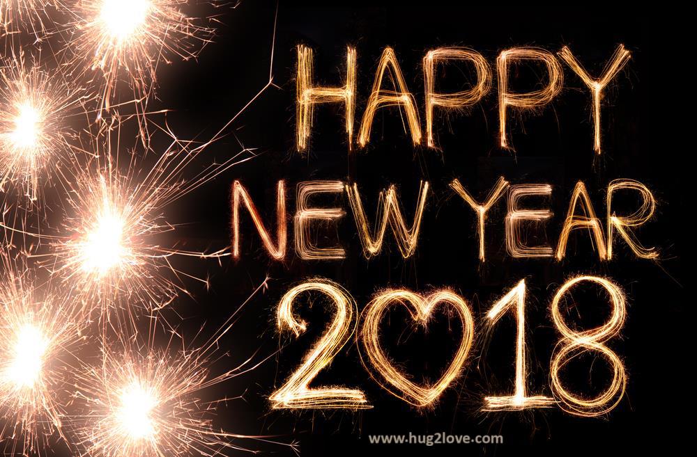 Romantic Happy New Year 2018 Love Wallpaper Hd Happy New