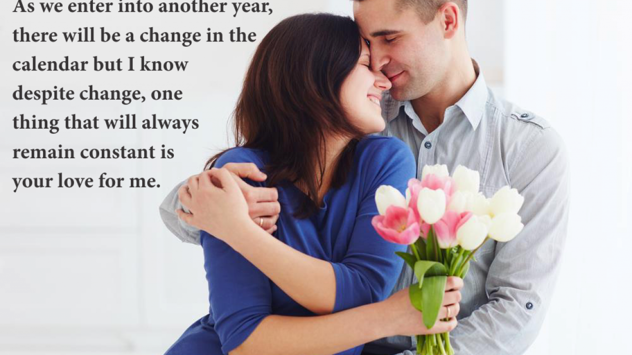 8 Happy New Year 8 Wishes for Wife from Hubby