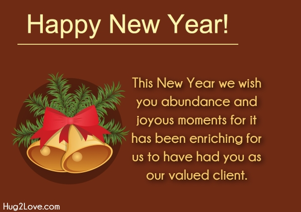 Merry Christmas And Happy New Year 2020 Business Client Quotes Happy New Year 2021 Wishes for Clients and Customers   Quotes Square