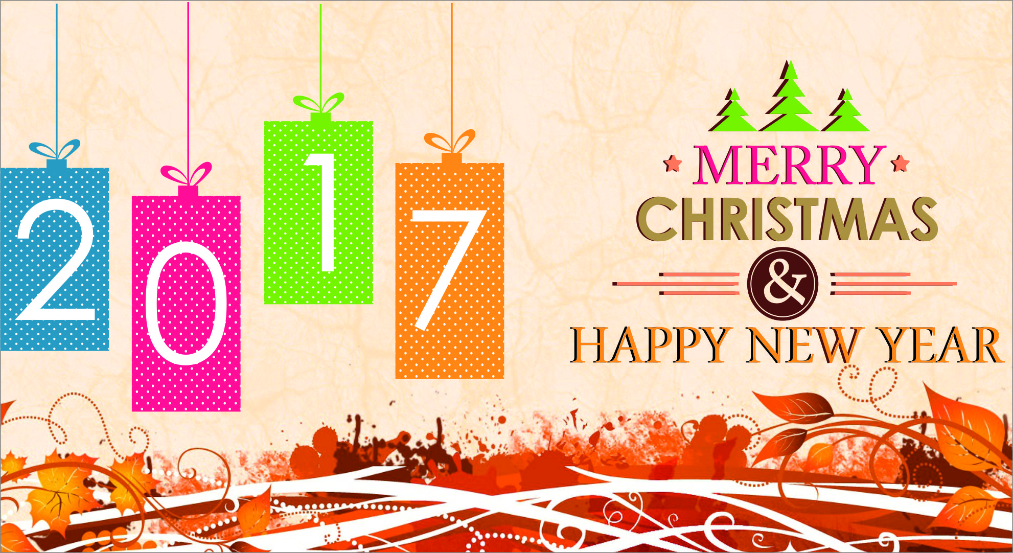2017 Happy New Year Christmas Wallpaper Hd Quotes Square