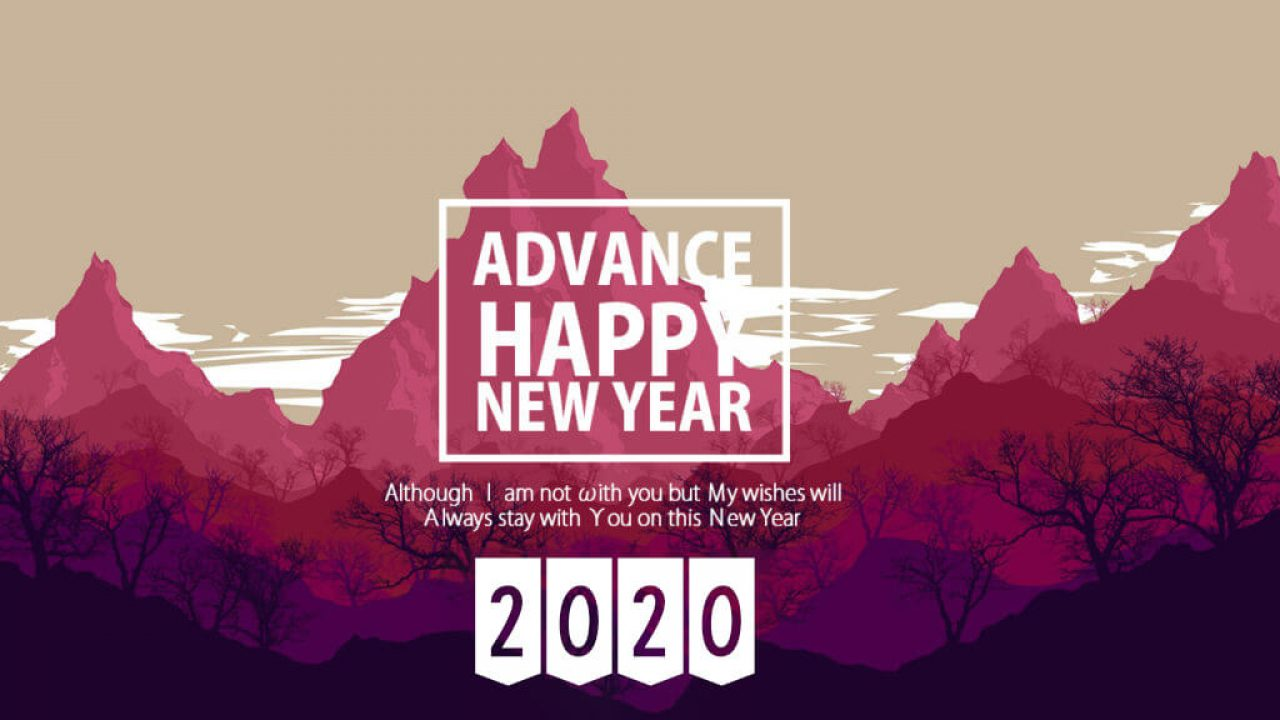 12++ New Year 2020 Wishes Images