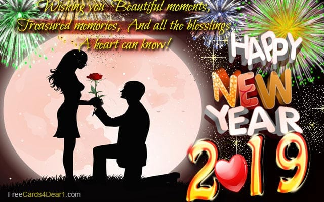 Unique Happy New Year Greeting eCards 2019 to Send Online ...