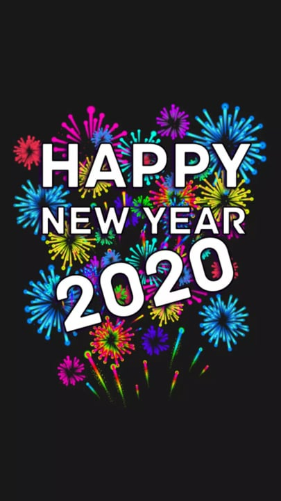 New Year 2020 Mobile Wallpaper Quotes Square