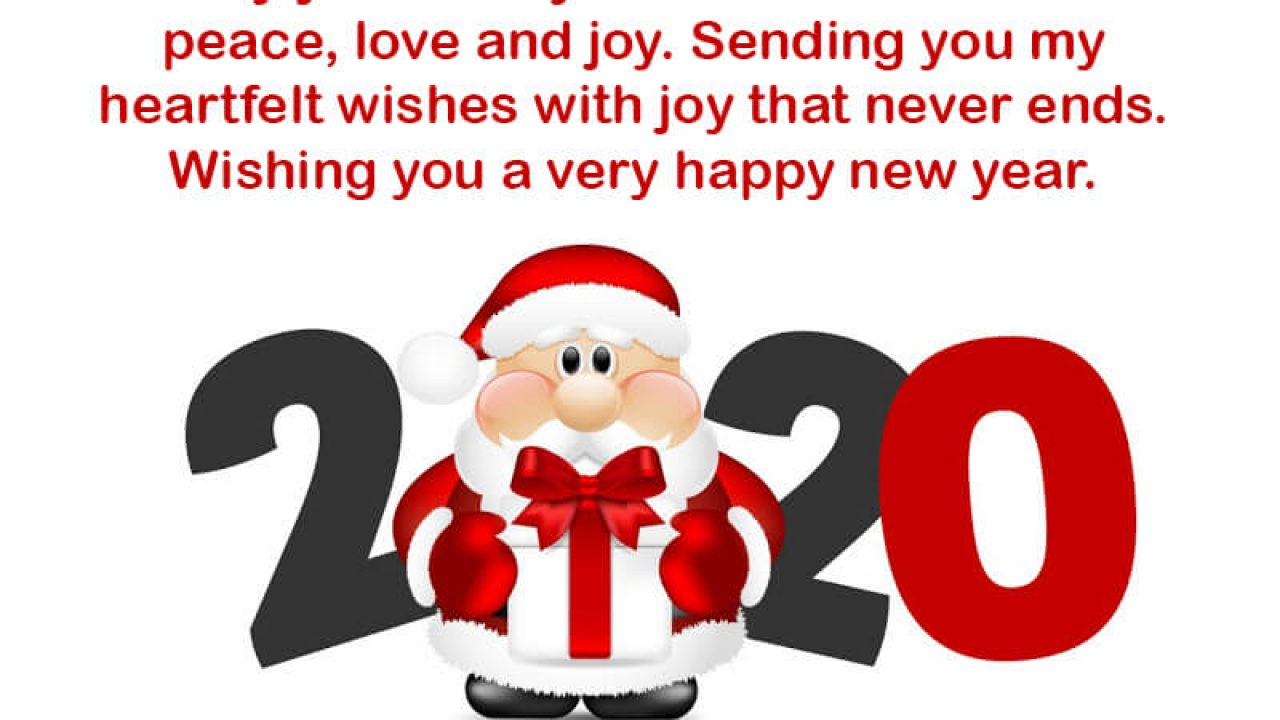9+ Happy New Year 2020 Wishes For Friends And Family