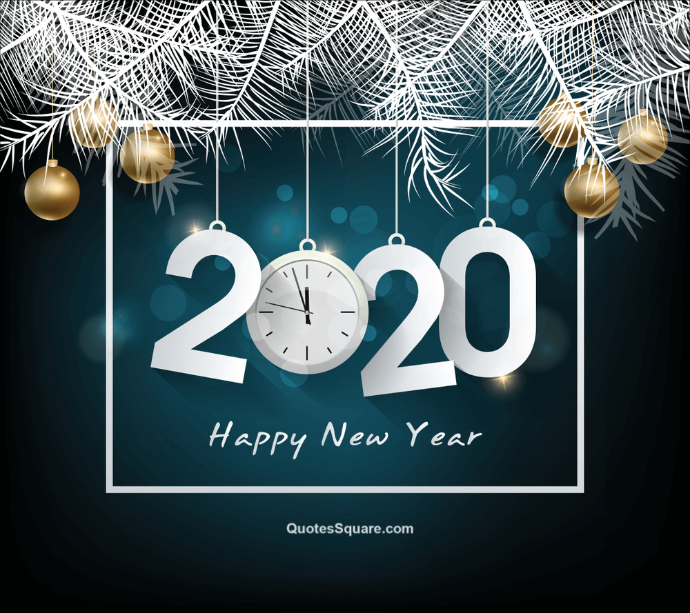 Happy New Year 2020 Clock Hd Wallpaper Free Download Happy