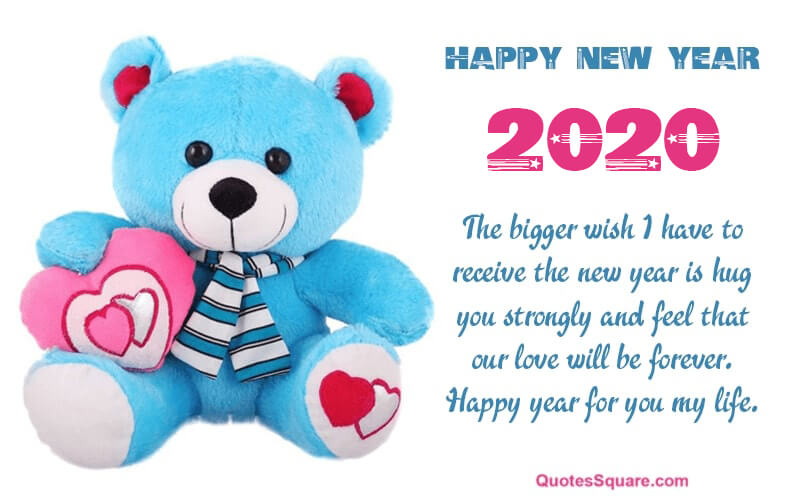 35 Best Happy New Year 2021 Teddy Bear Pictures with ...