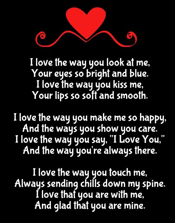 You make me so happy poems