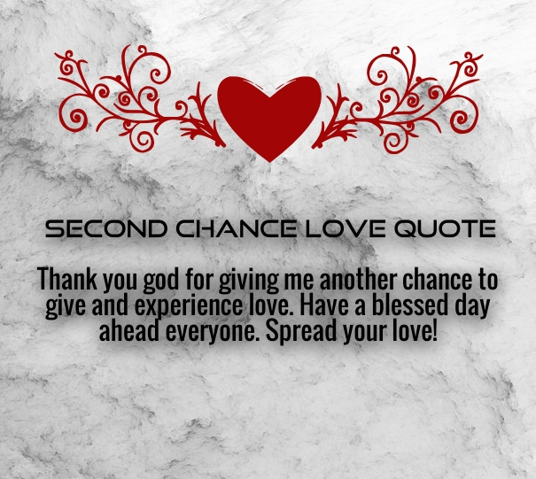 Second Chance Love Quotes For Her Quotes Square