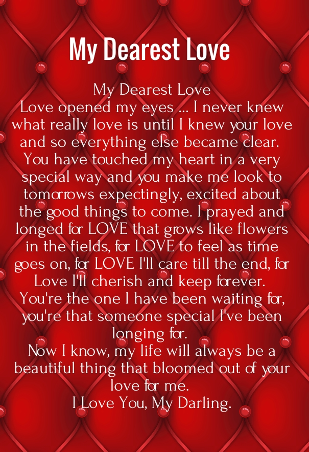 Examples Of Love Letters Quotes Square