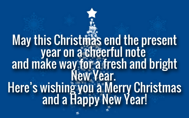happy new year and merry christmas quotes 2016