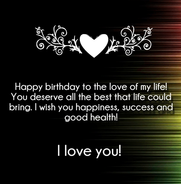 Cool I Love You Happy Birthday Quotes And Wishes Quotes Square Personalised Birthday Cards Paralily Jamesorg