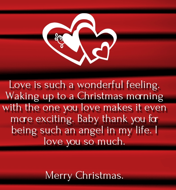 Love Quotes Christmas Him