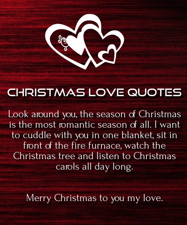 Merry Christmas Love Quotes 2019 for Her & Him - Quotes Square