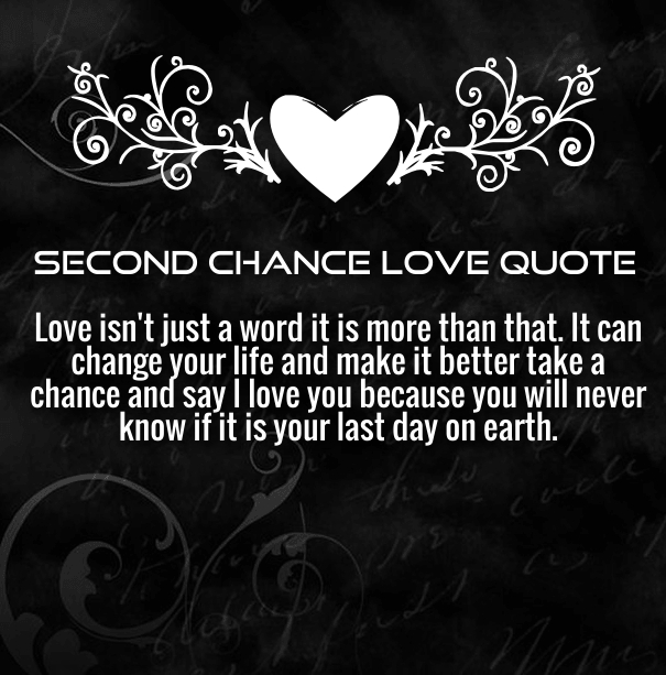 Relationship Quotes Second Chance: Second Chance Relationship Quotes